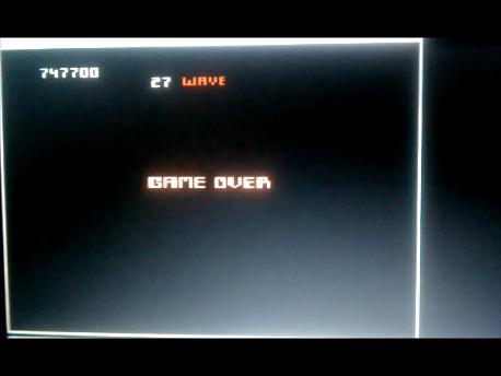 S.BAZ: Robotron 2084: Advanced (Atari 7800 Emulated) 747,700 points on 2016-02-11 04:58:22