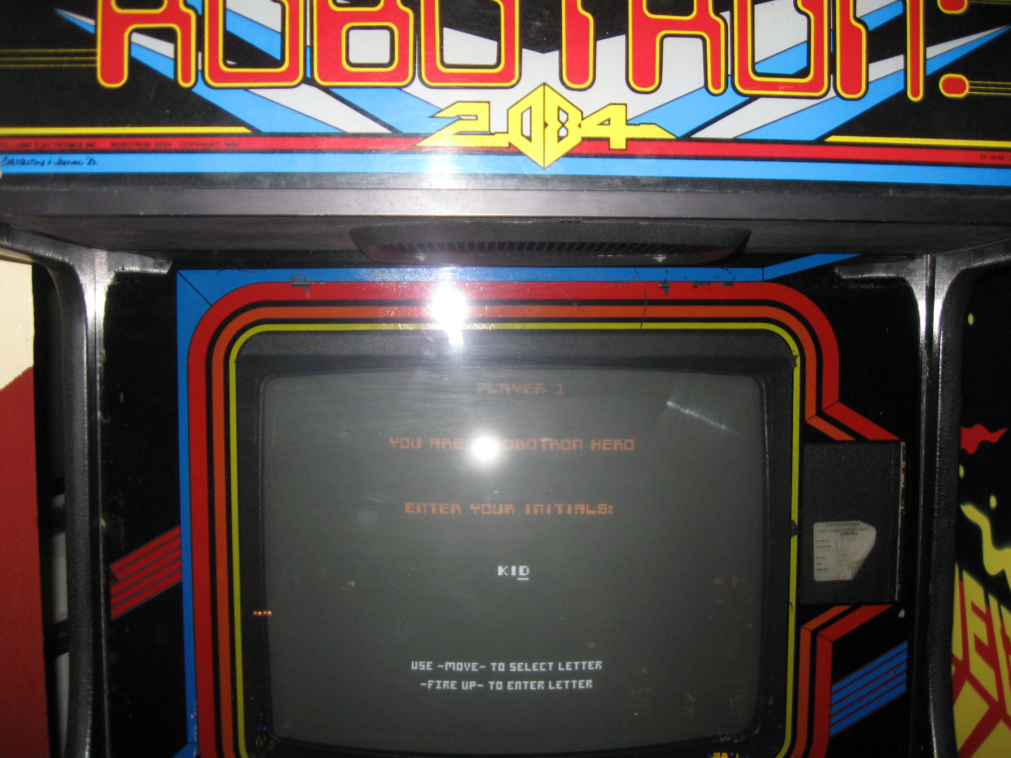 Robotron 2084 862,400 points