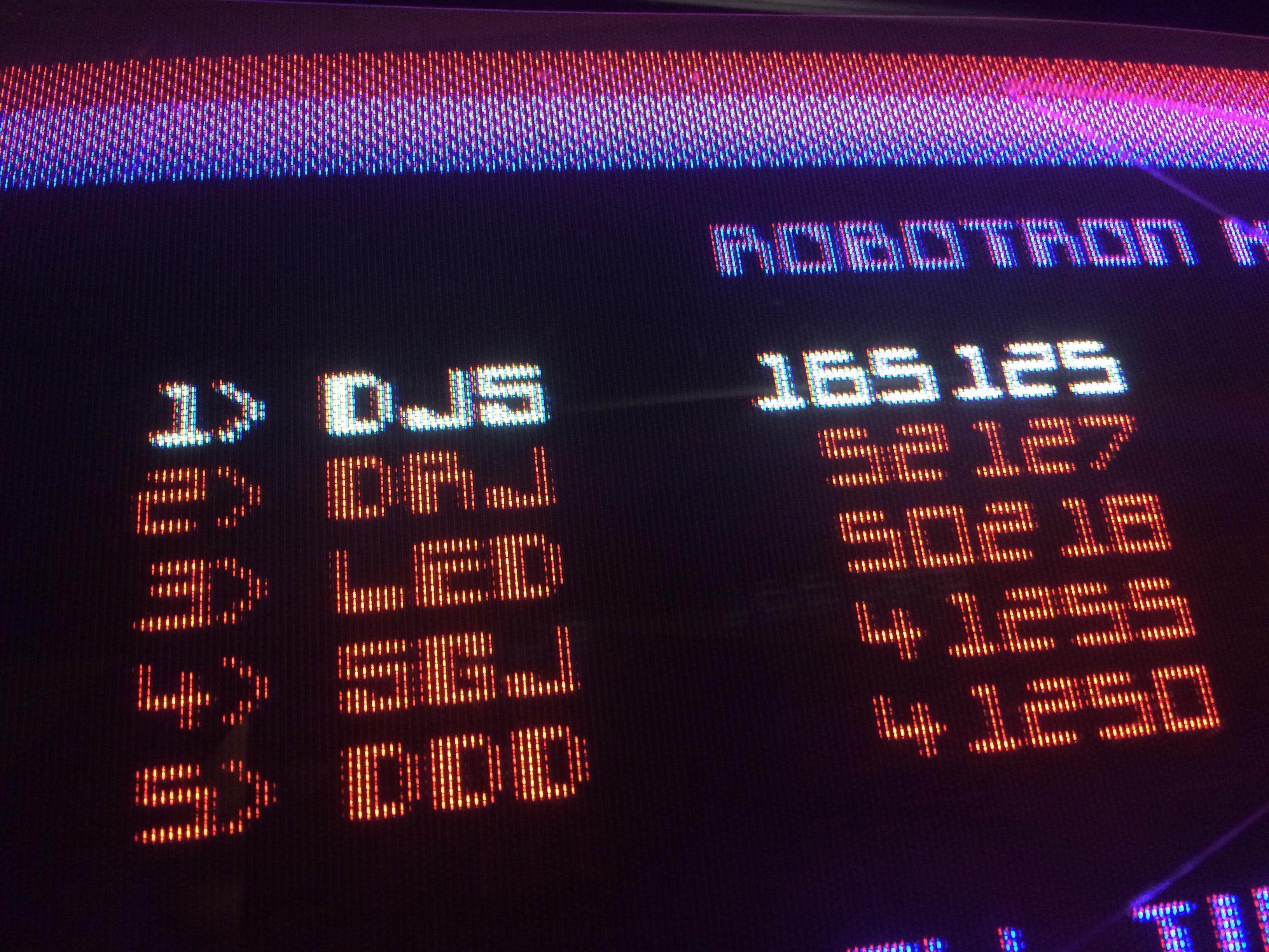 Robotron 2084 165,125 points