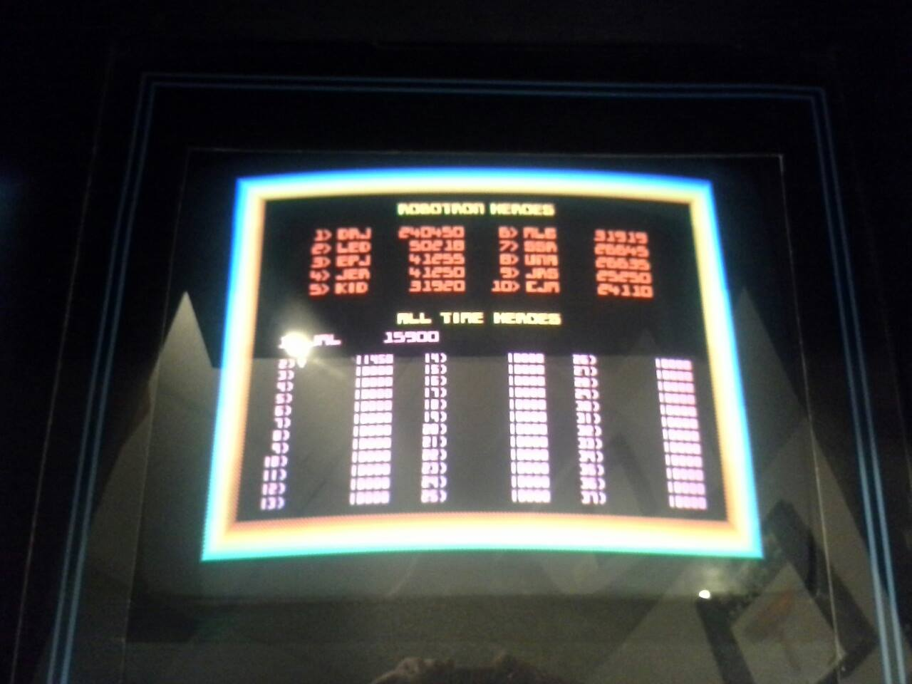 Robotron 2084 15,900 points