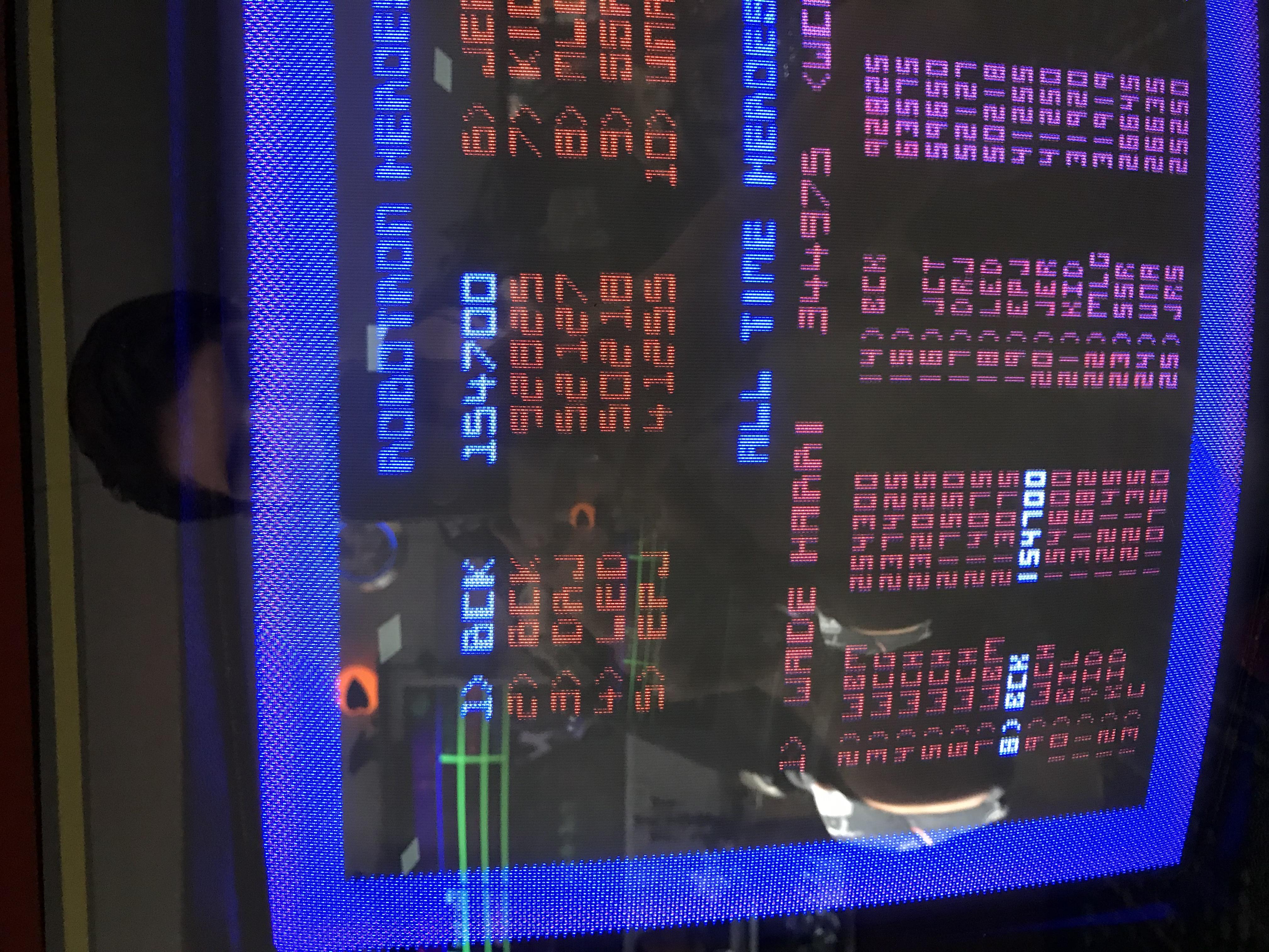 Robotron 2084 154,700 points