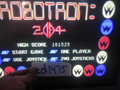 ed1475: Robotron 2084 (Atari ST) 161,525 points on 2017-09-21 17:58:31