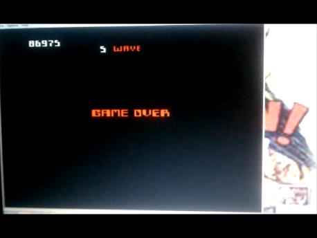 S.BAZ: Robotron 2084: Challenge (Atari 7800 Emulated) 86,975 points on 2016-02-11 03:14:04