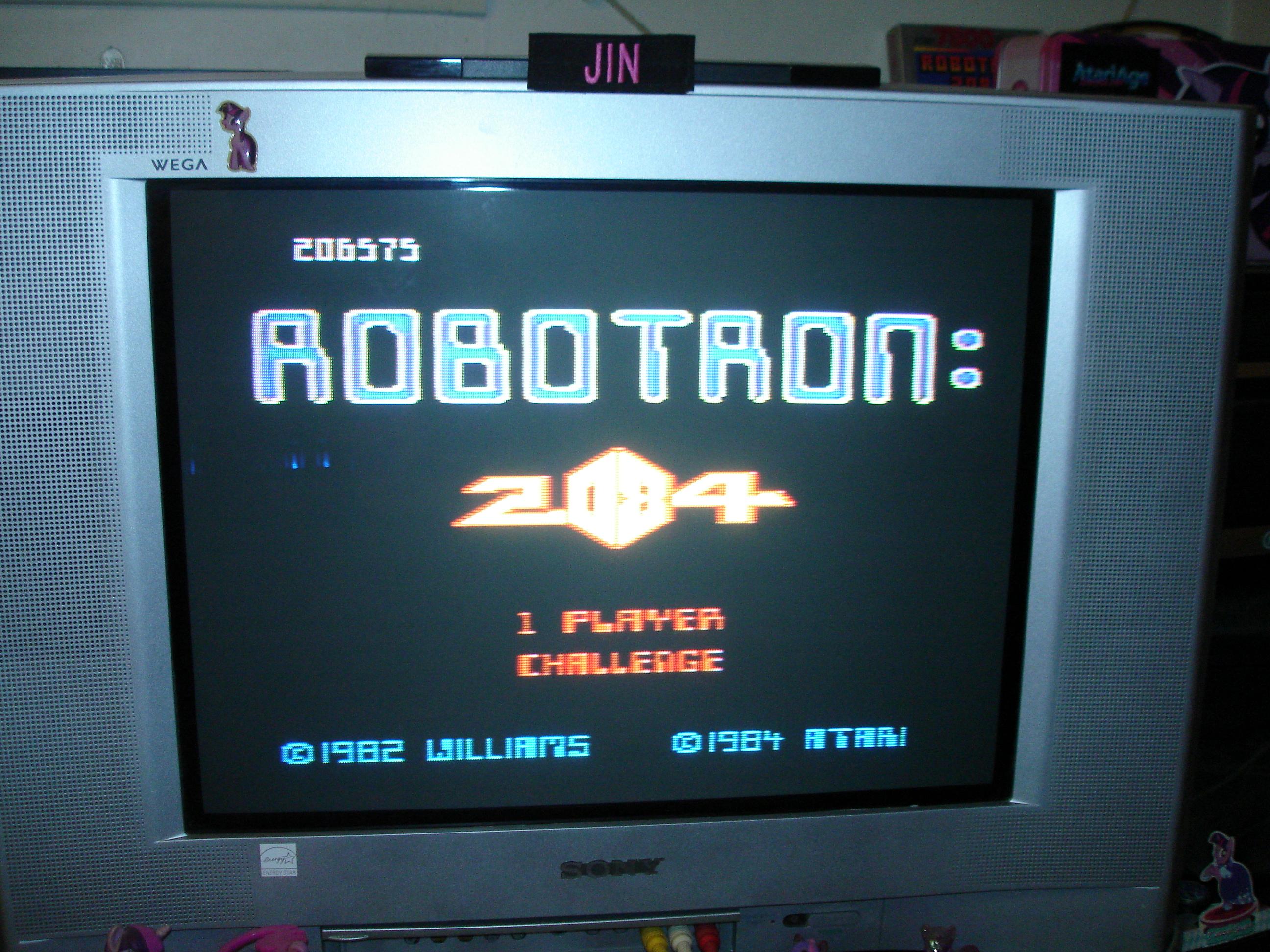 Robotron 2084: Challenge 206,575 points