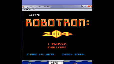 Robotron 2084: Challenge 112,475 points