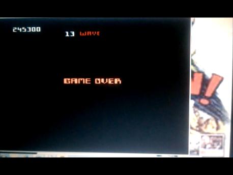 S.BAZ: Robotron 2084: Expert (Atari 7800 Emulated) 245,300 points on 2016-02-11 05:04:35