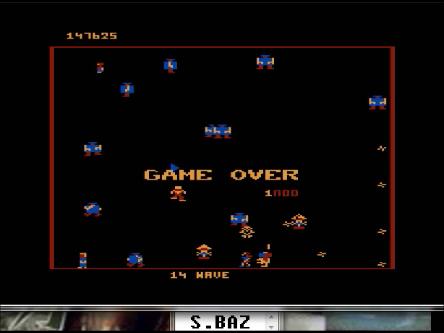 S.BAZ: Robotron 2084: Level 1 (Atari 5200 Emulated) 147,625 points on 2016-03-01 23:34:55