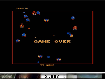 S.BAZ: Robotron 2084: Level 2 (Atari 5200 Emulated) 254,375 points on 2016-03-01 23:40:32