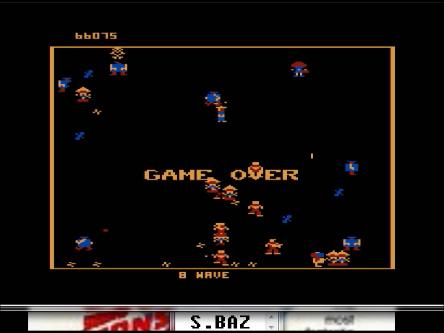 S.BAZ: Robotron 2084: Level 4 (Atari 5200 Emulated) 66,075 points on 2016-03-01 23:45:53