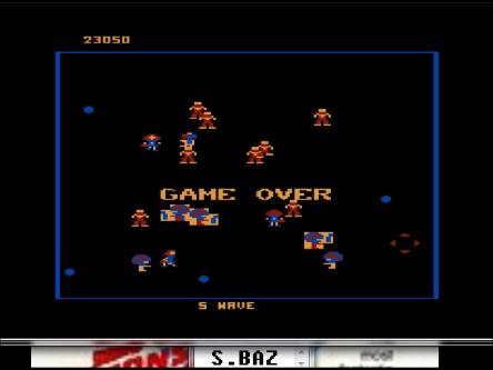 S.BAZ: Robotron 2084: Level 5 (Atari 5200 Emulated) 23,050 points on 2016-03-01 23:52:14