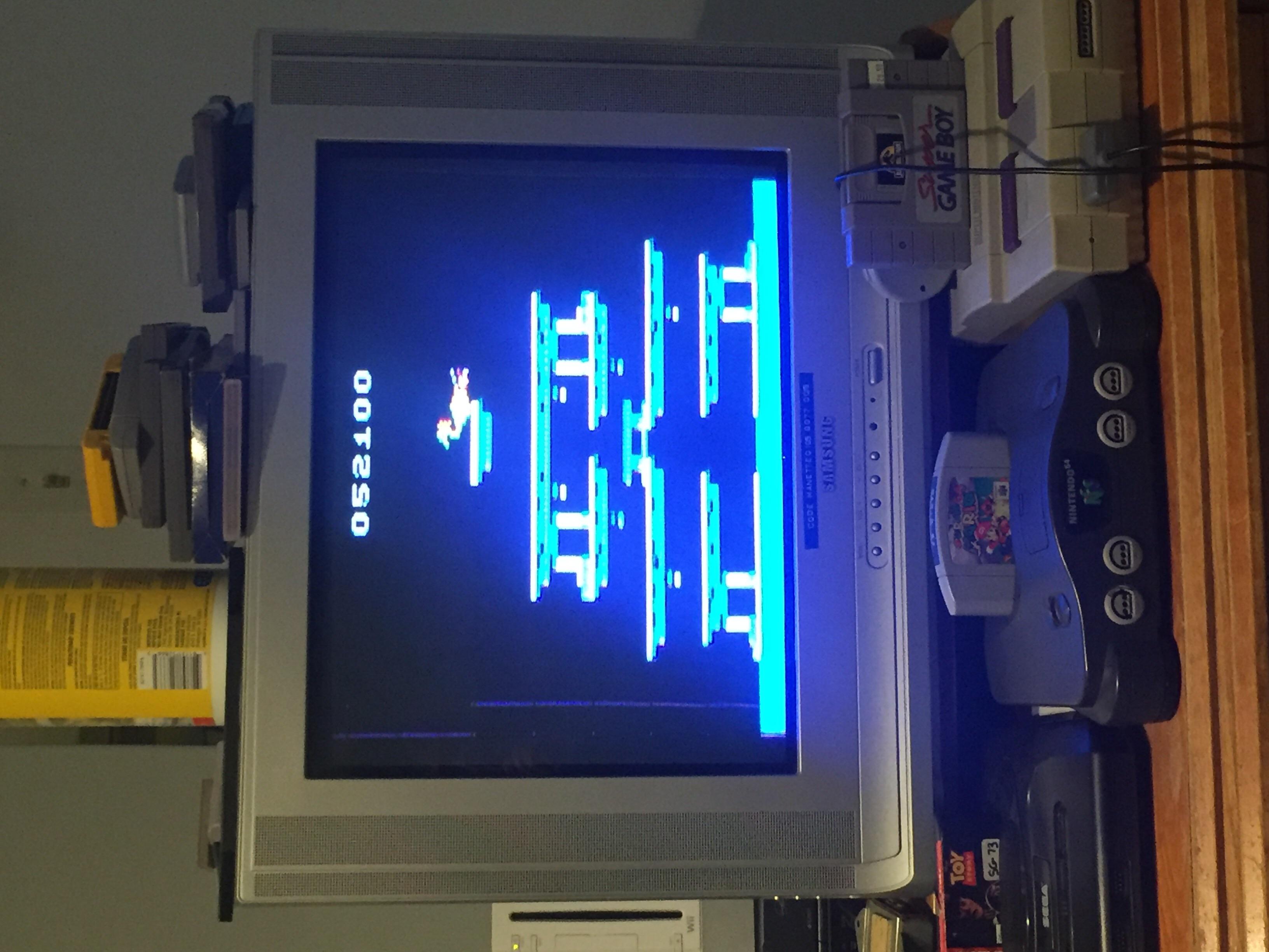 ColonelLlama: Roc N Rope (Atari 2600 Novice/B) 52,100 points on 2019-09-15 12:00:10