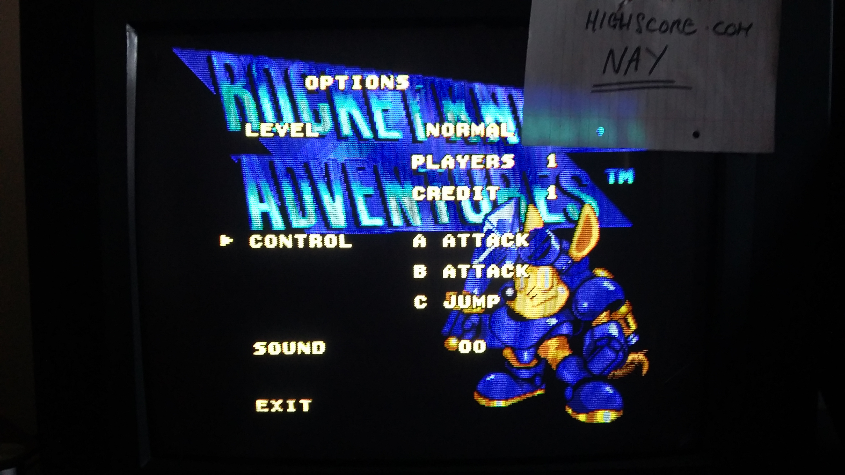 Rocket Knight Adventures [Normal] 354,900 points