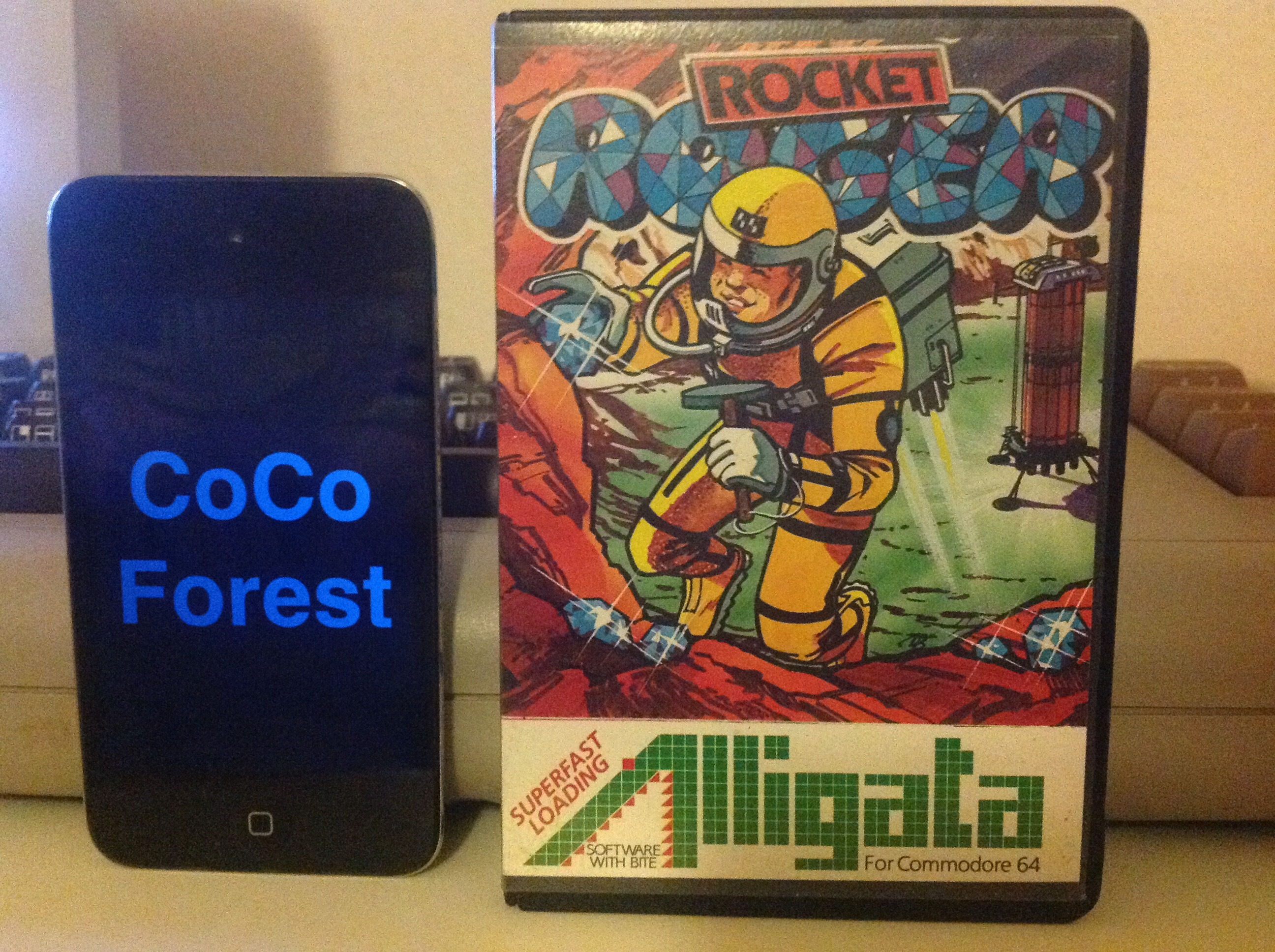 CoCoForest: Rocket Roger [Alligata] (Commodore 64) 28,300 points on 2015-12-18 11:20:30