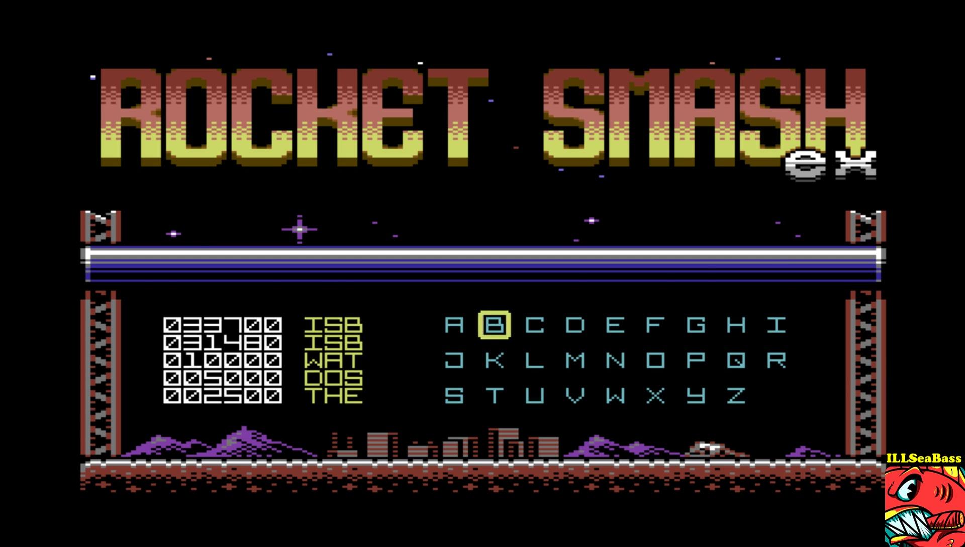 ILLSeaBass: Rocket Smash EX [Story: Hard] (Commodore 64 Emulated) 33,700 points on 2017-04-16 22:05:57
