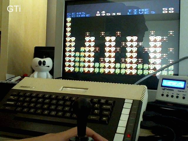 GTibel: Rockford (Atari 400/800/XL/XE) 9,535 points on 2017-09-27 09:27:31