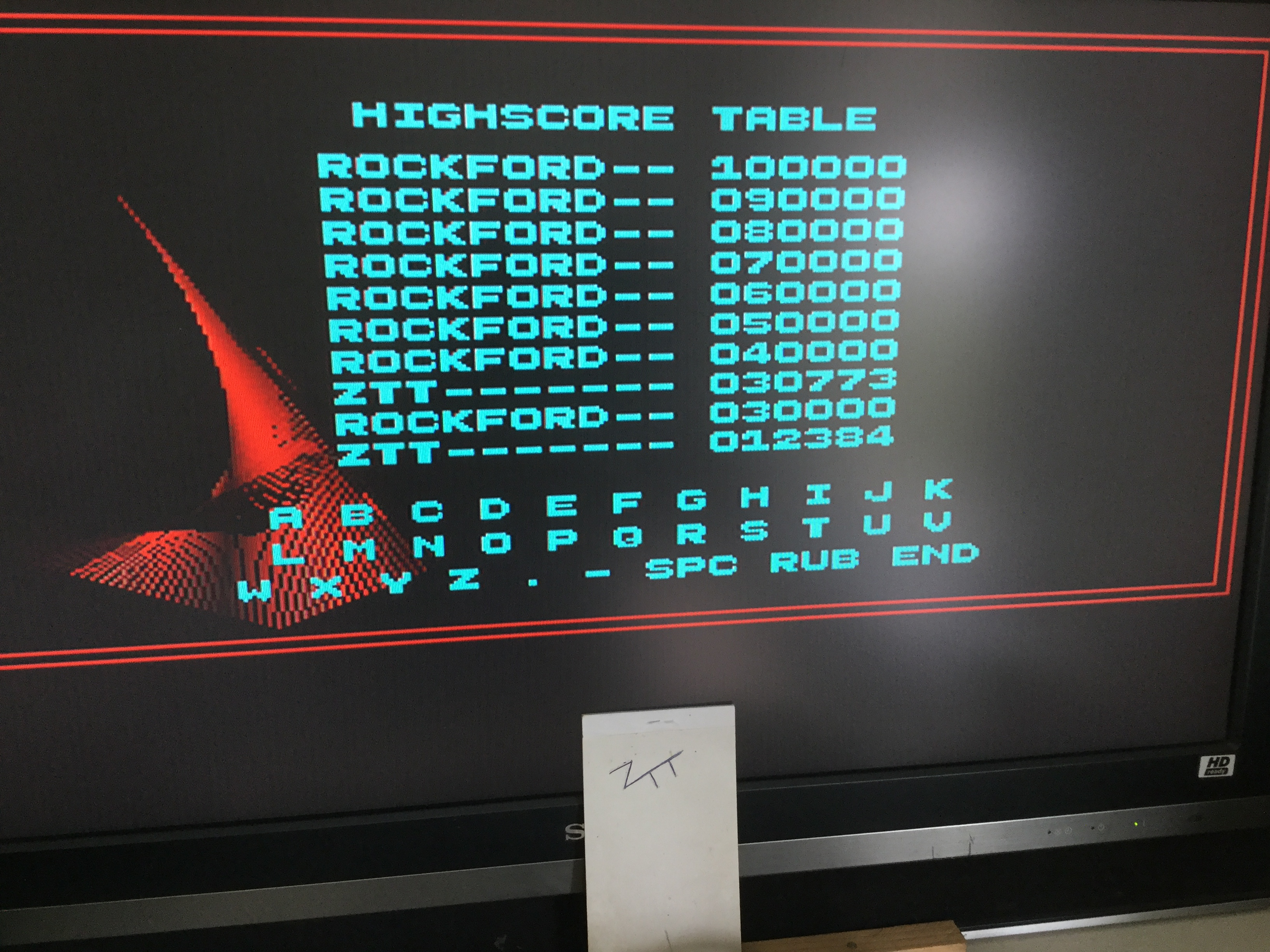 Frankie: Rockford: The Arcade Game (Amiga) 30,773 points on 2019-07-13 05:28:30