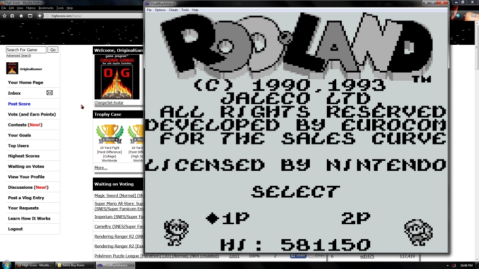 OriginalGamer: Rod Land (Game Boy Emulated) 581,150 points on 2016-07-15 15:50:03