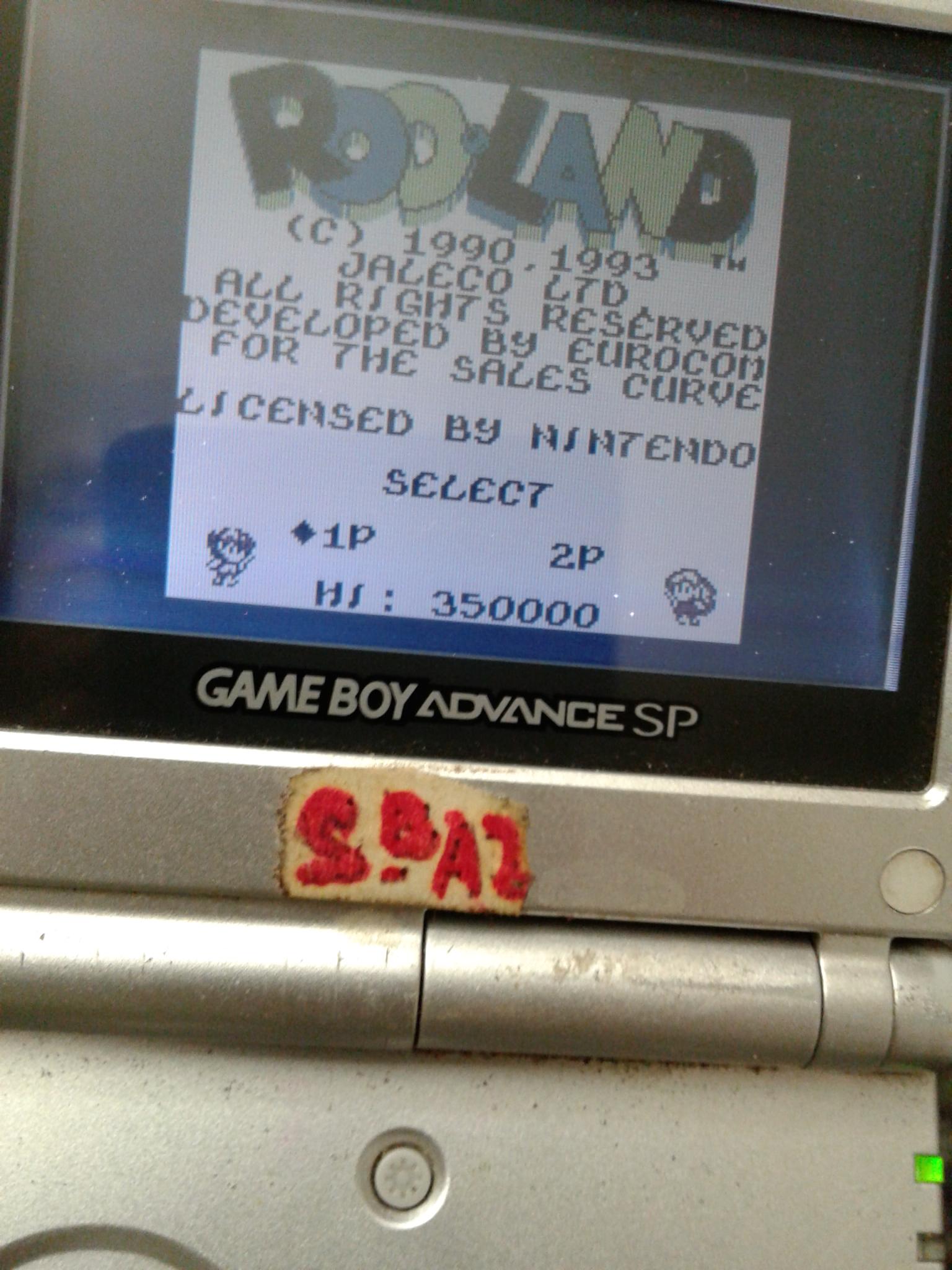 S.BAZ: Rod Land (Game Boy) 730,600 points on 2020-08-02 19:22:00