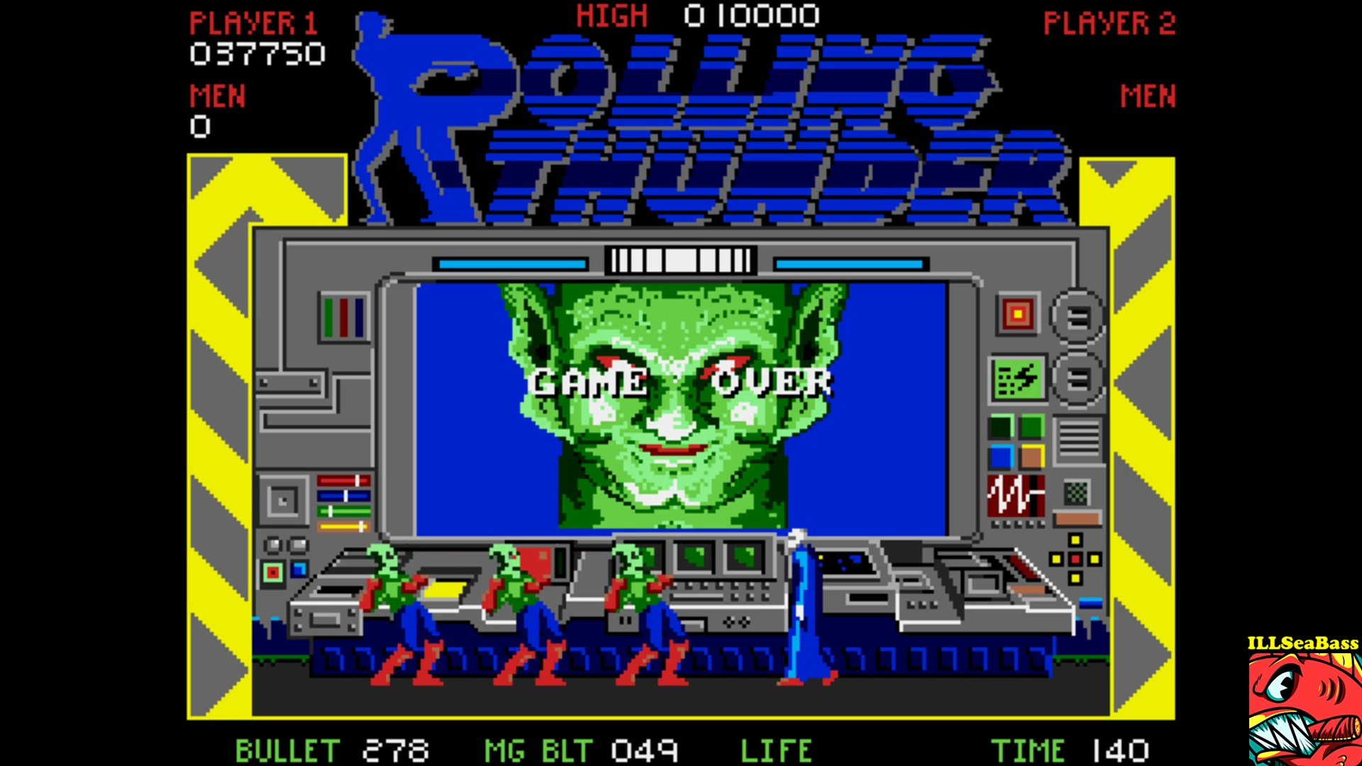 ILLSeaBass: Rolling Thunder (Amiga Emulated) 37,750 points on 2017-11-02 01:12:29