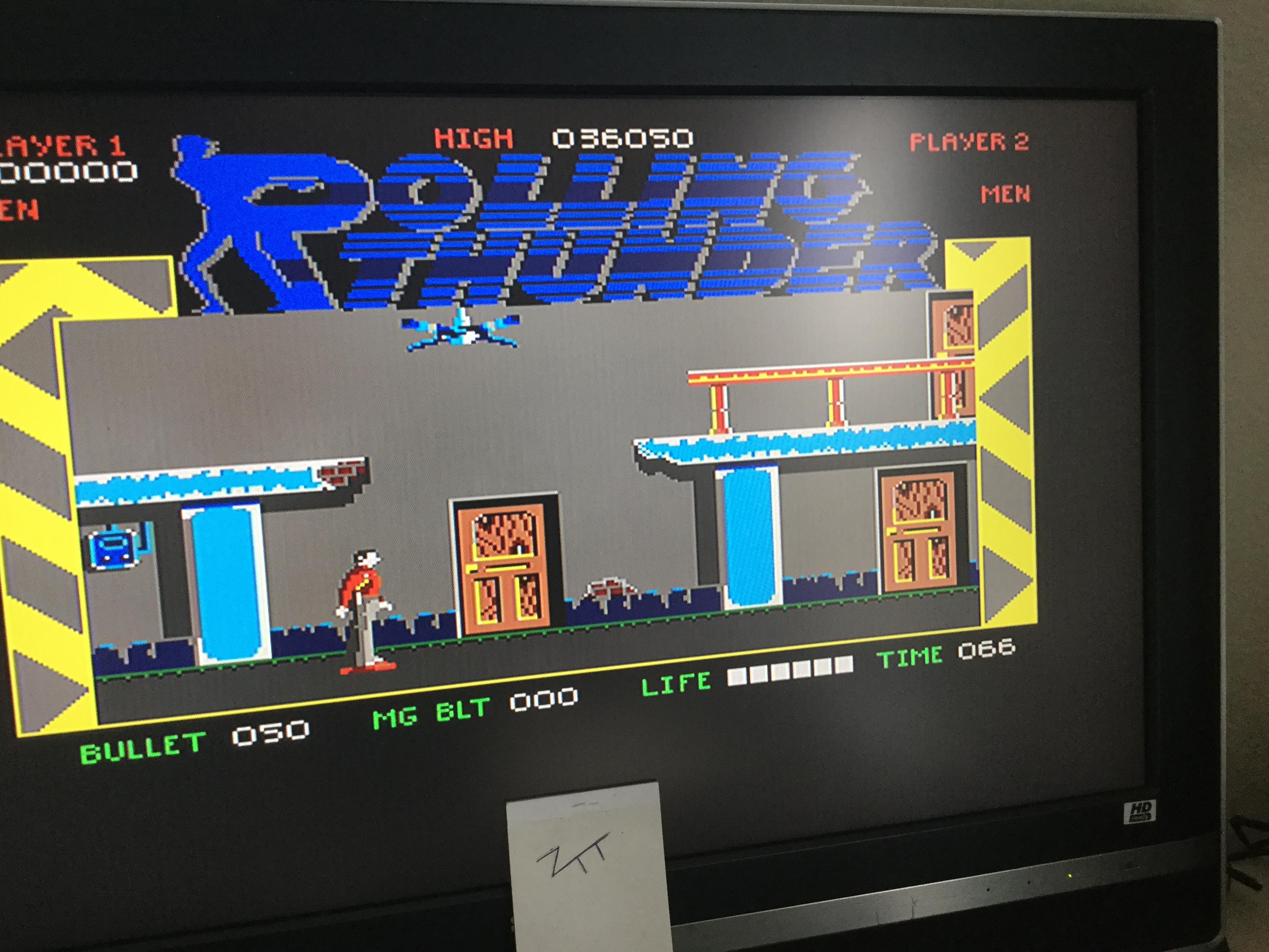 Frankie: Rolling Thunder (Amiga) 36,050 points on 2017-11-05 05:20:56