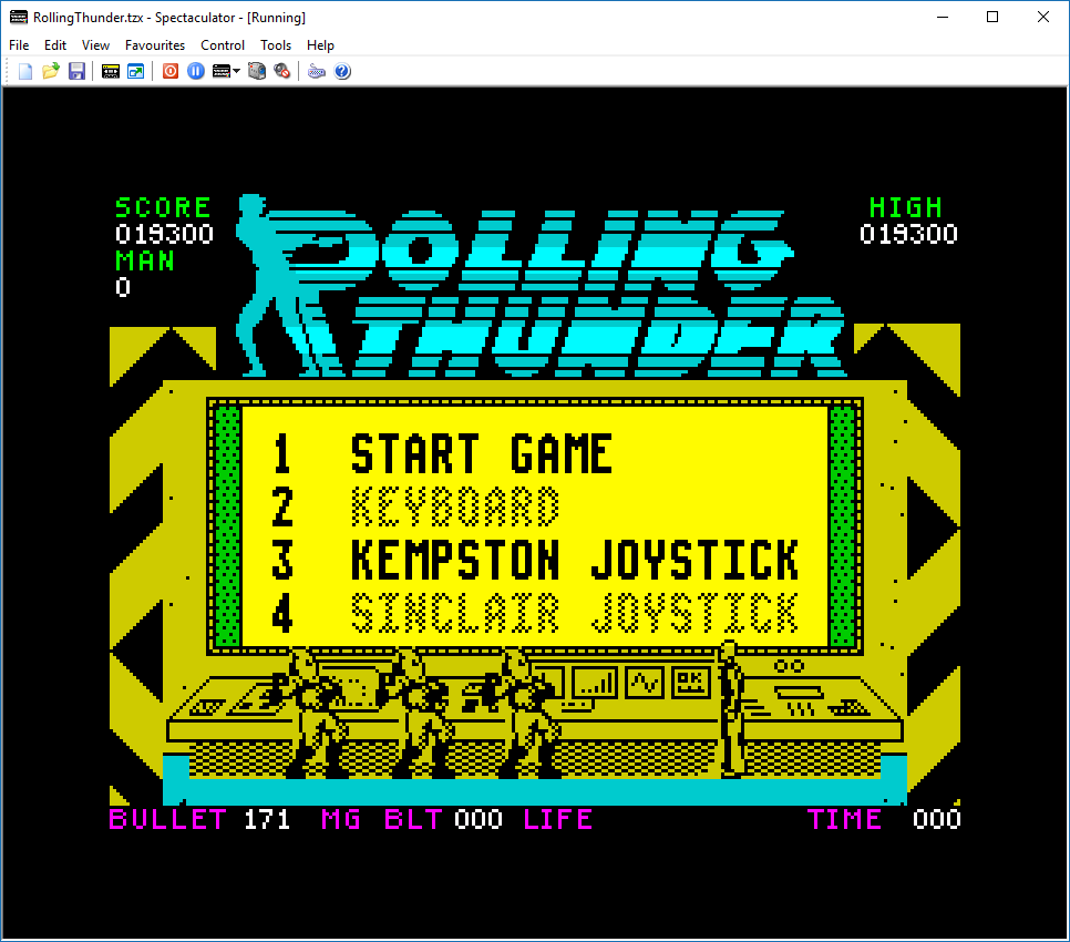 Rolling Thunder 19,300 points