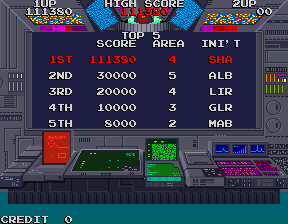 Shahbaz: Rolling Thunder [rthunder] (Arcade Emulated / M.A.M.E.) 111,380 points on 2016-07-03 02:20:19