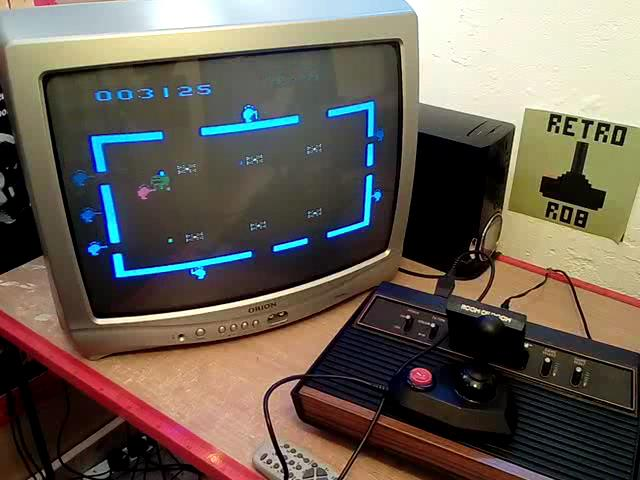 RetroRob: Room of Doom (Atari 2600 Expert/A) 3,125 points on 2020-07-22 11:11:52