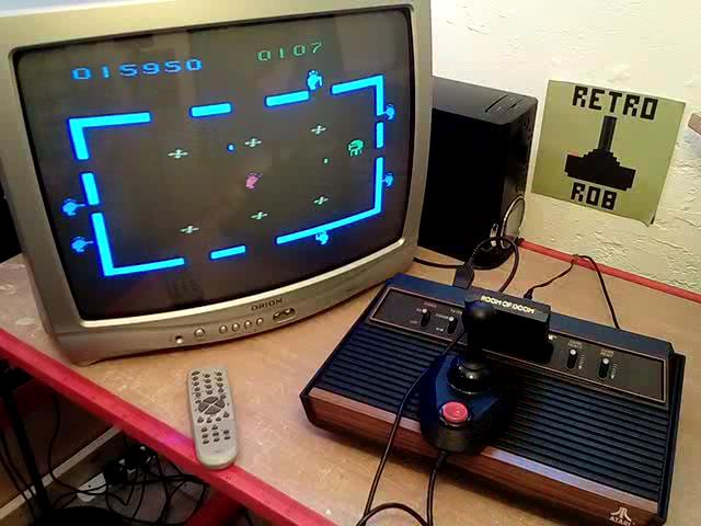 RetroRob: Room of Doom (Atari 2600 Novice/B) 15,950 points on 2020-07-22 10:46:01