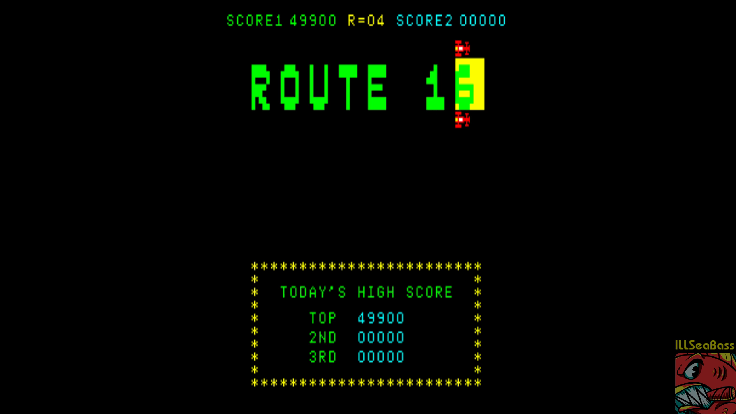 ILLSeaBass: Route 16 (Arcade Emulated / M.A.M.E.) 49,900 points on 2018-07-30 09:58:52