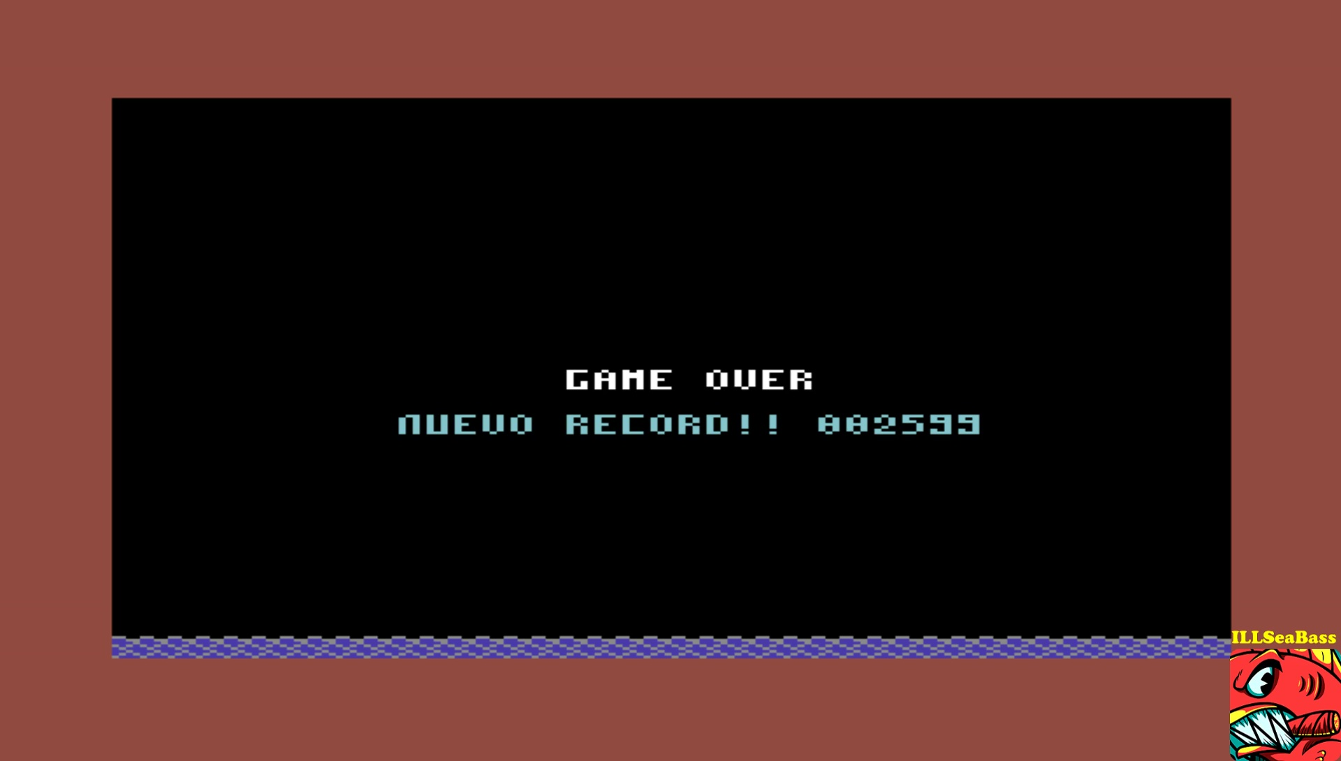 ILLSeaBass: Rowman (Commodore 64 Emulated) 2,599 points on 2017-05-21 21:01:56