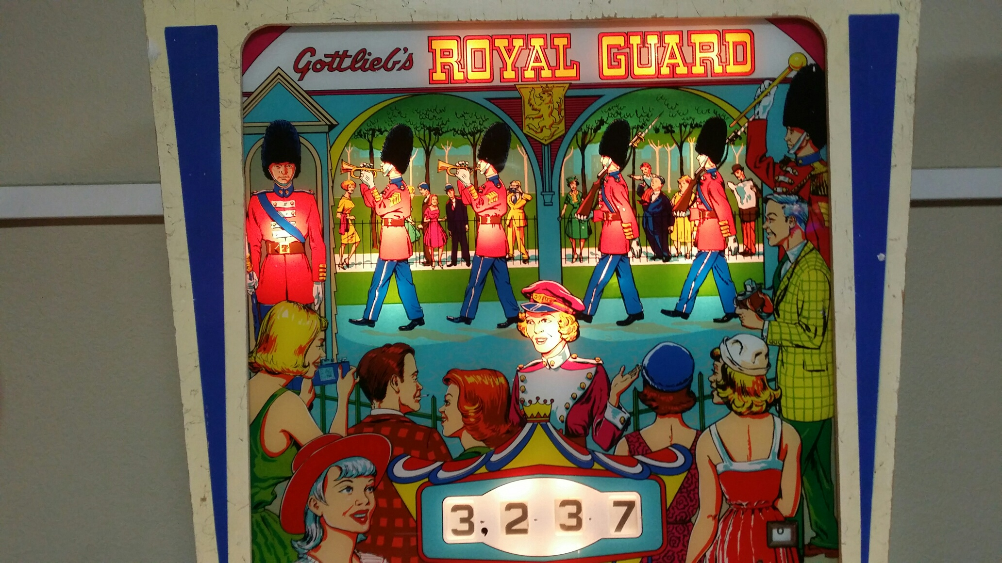 Royal Guard 3,237 points