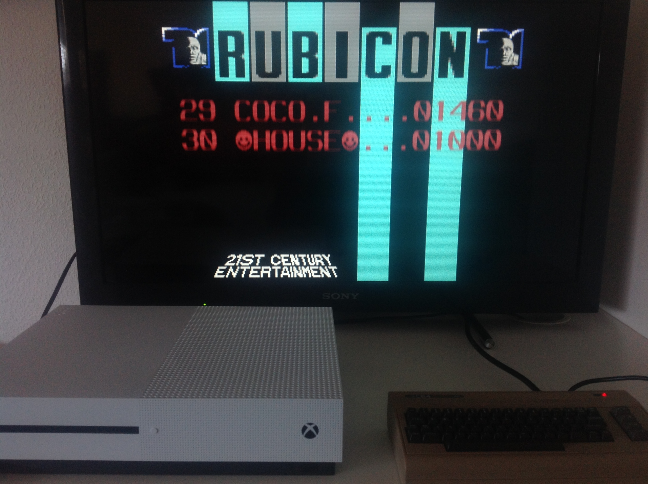 CoCoForest: Rubicon (Commodore 64 Emulated) 1,460 points on 2018-04-05 03:14:15