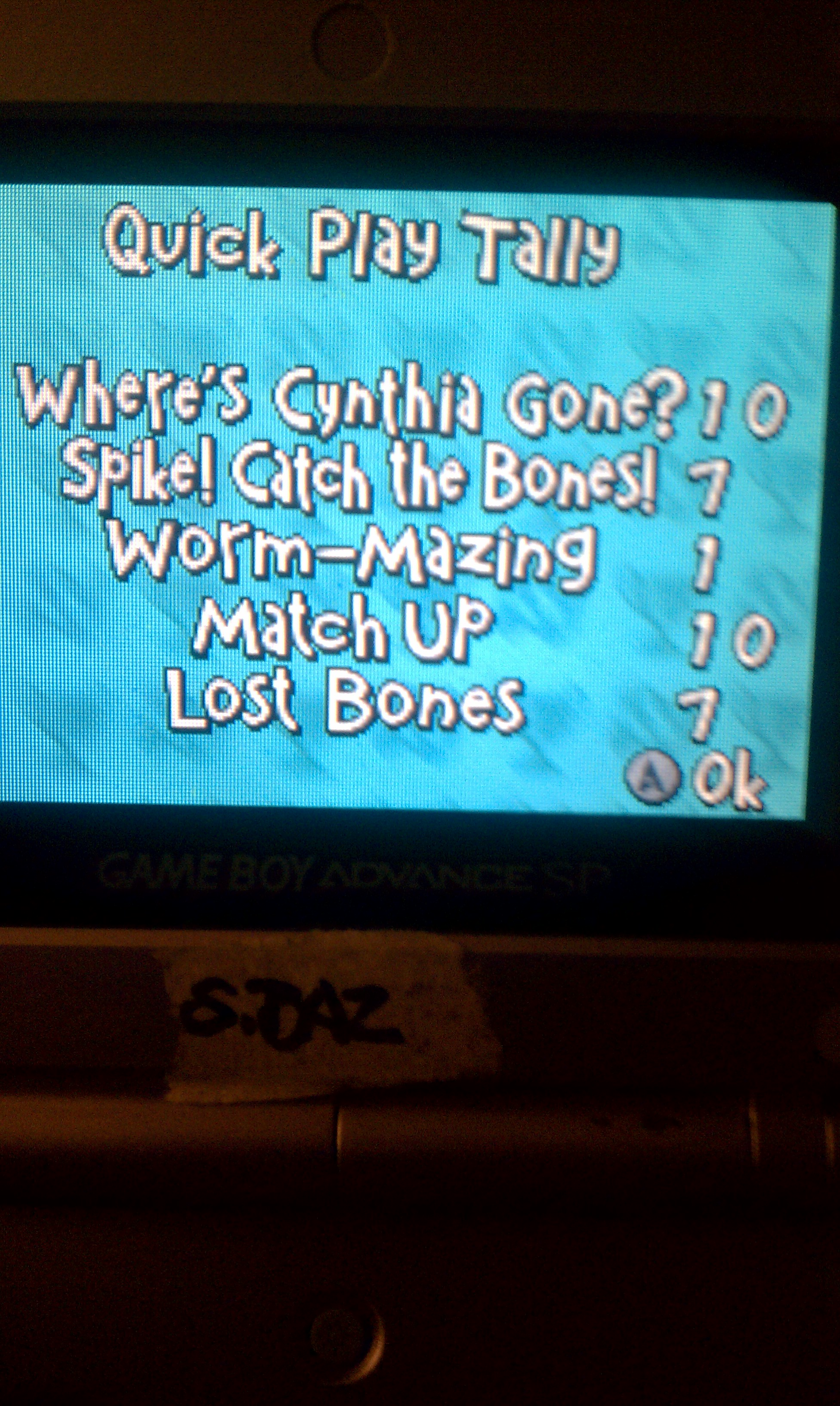 S.BAZ: Rugrats: I Gotta Go Party [Quick Play] (GBA) 50 points on 2020-06-04 15:04:54