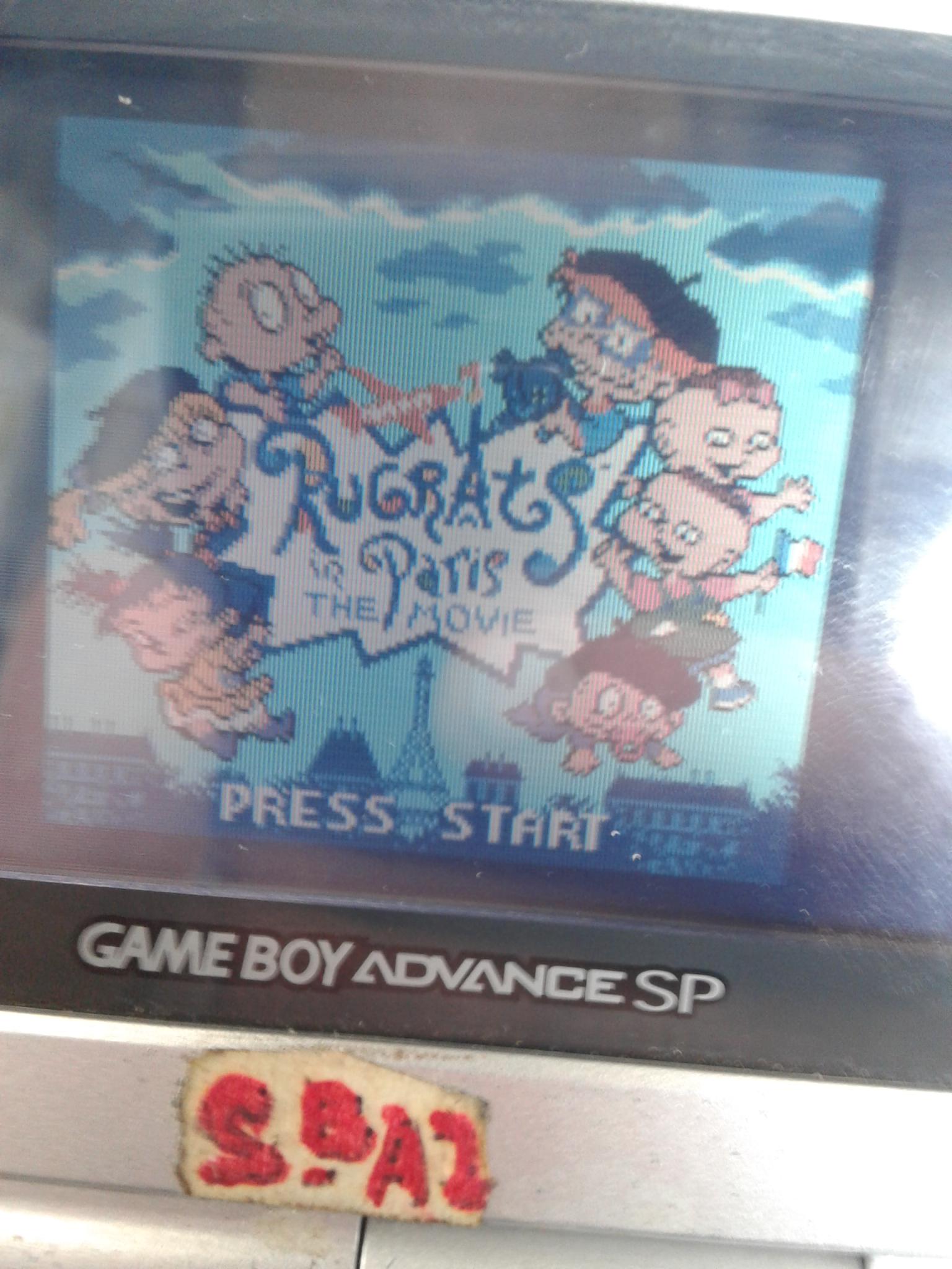 S.BAZ: Rugrats In Paris: The Movie (Game Boy Color) 200 points on 2019-09-09 16:48:04