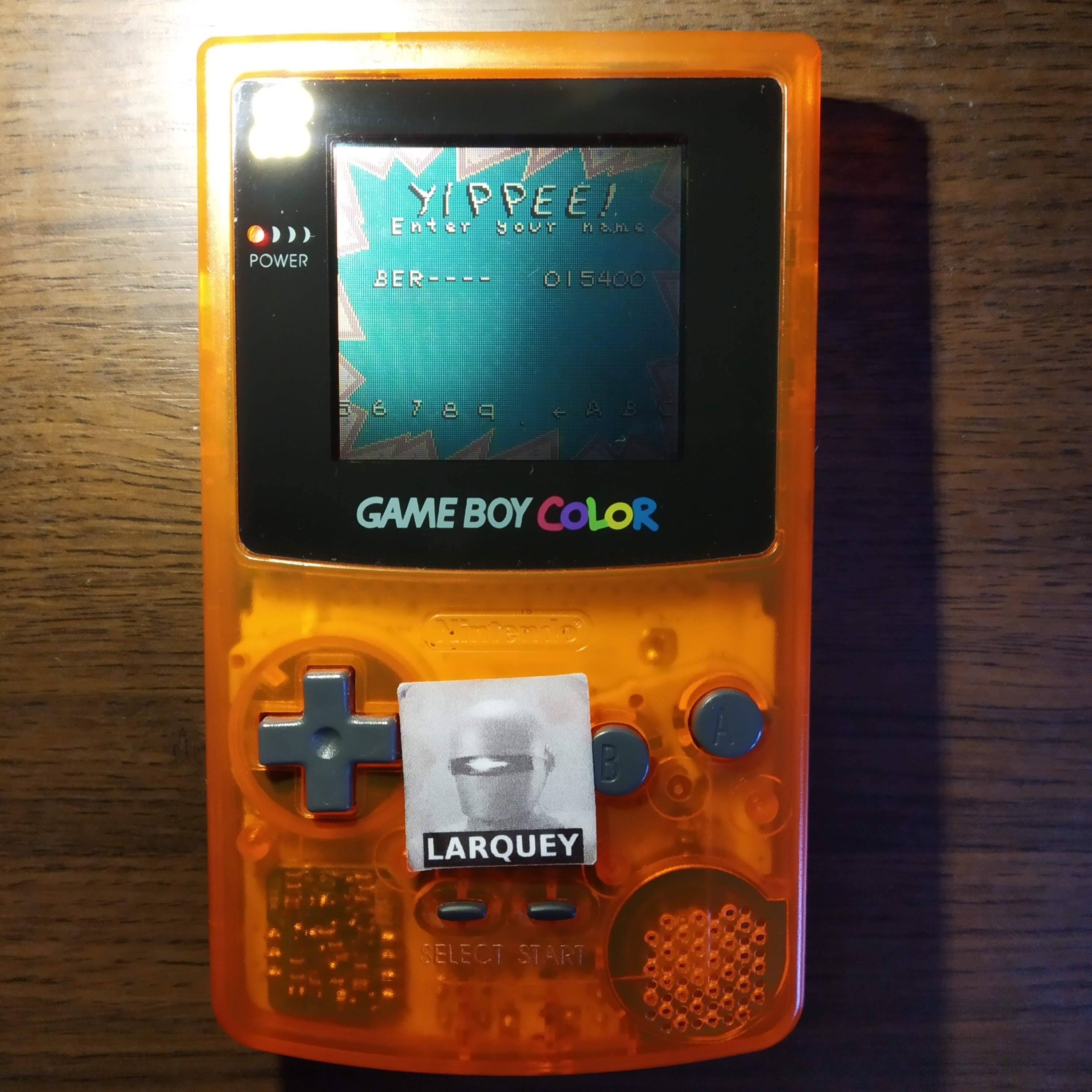 Larquey: Rugrats: Time Travelers (Game Boy Color) 15,400 points on 2020-07-24 05:36:20