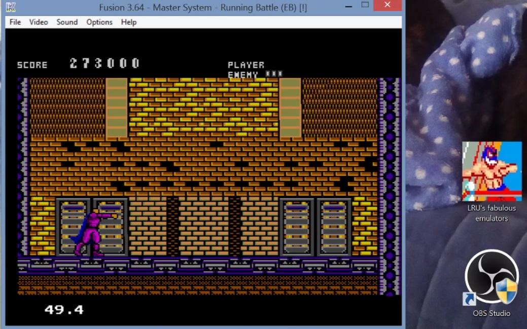 LuigiRuffolo: Running Battle (Sega Master System Emulated) 273,000 points on 2020-12-24 16:55:26