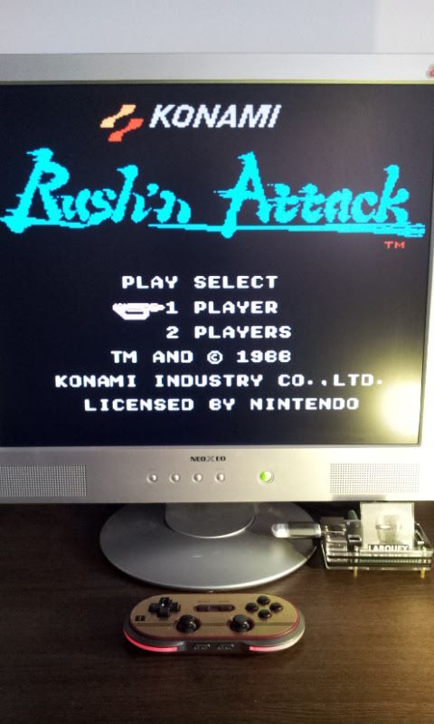 Larquey: Rush N Attack (NES/Famicom Emulated) 67,500 points on 2017-02-17 10:23:49