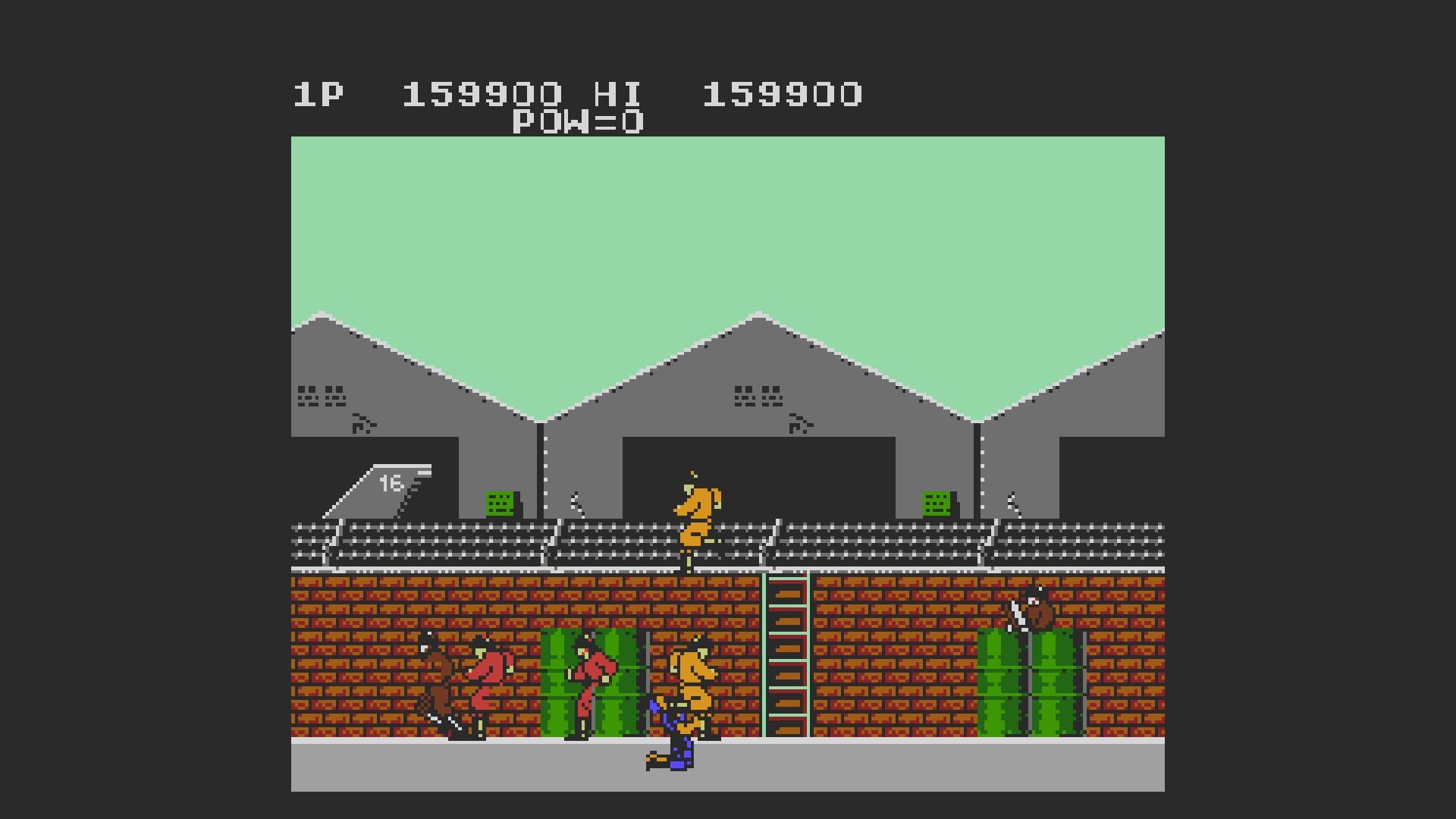 AkinNahtanoj: Rush N Attack (NES/Famicom Emulated) 159,900 points on 2020-08-21 09:20:49