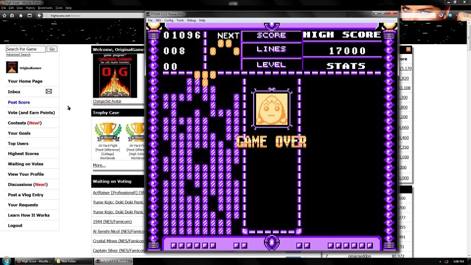 OriginalGamer: Russia (NES/Famicom Emulated) 1,096 points on 2016-09-23 03:39:26