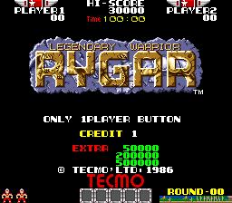 Rygar 2,980,820 points