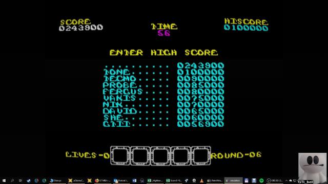 GTibel: Rygar (ZX Spectrum Emulated) 243,900 points on 2019-01-25 03:08:11