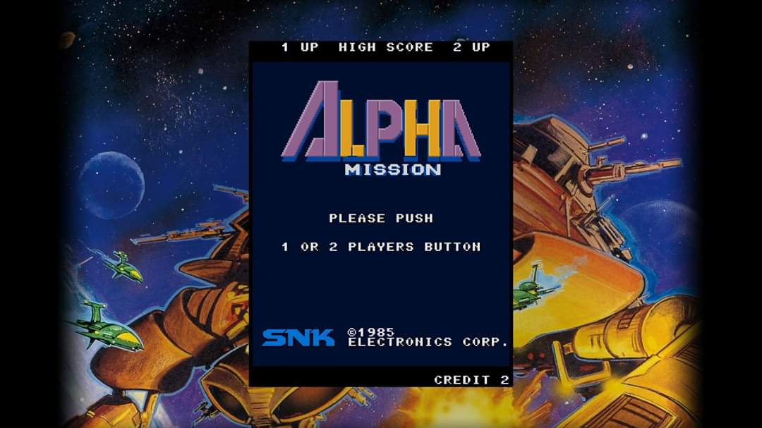 JML101582: SNK 40th Anniversary Collection: Alpha Mission [Arcade] (Nintendo Switch) 8,210 points on 2020-06-19 21:49:32