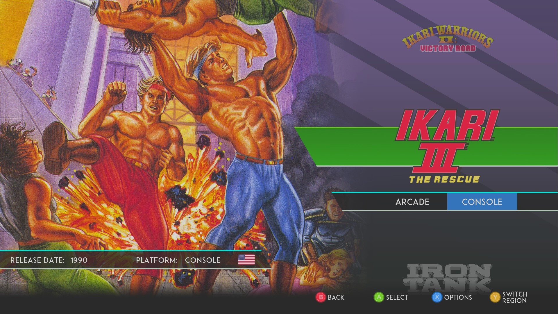 AkinNahtanoj: SNK 40th Anniversary Collection: Ikari III: The Rescue [Console] (PC) 16,200 points on 2020-08-24 03:57:29