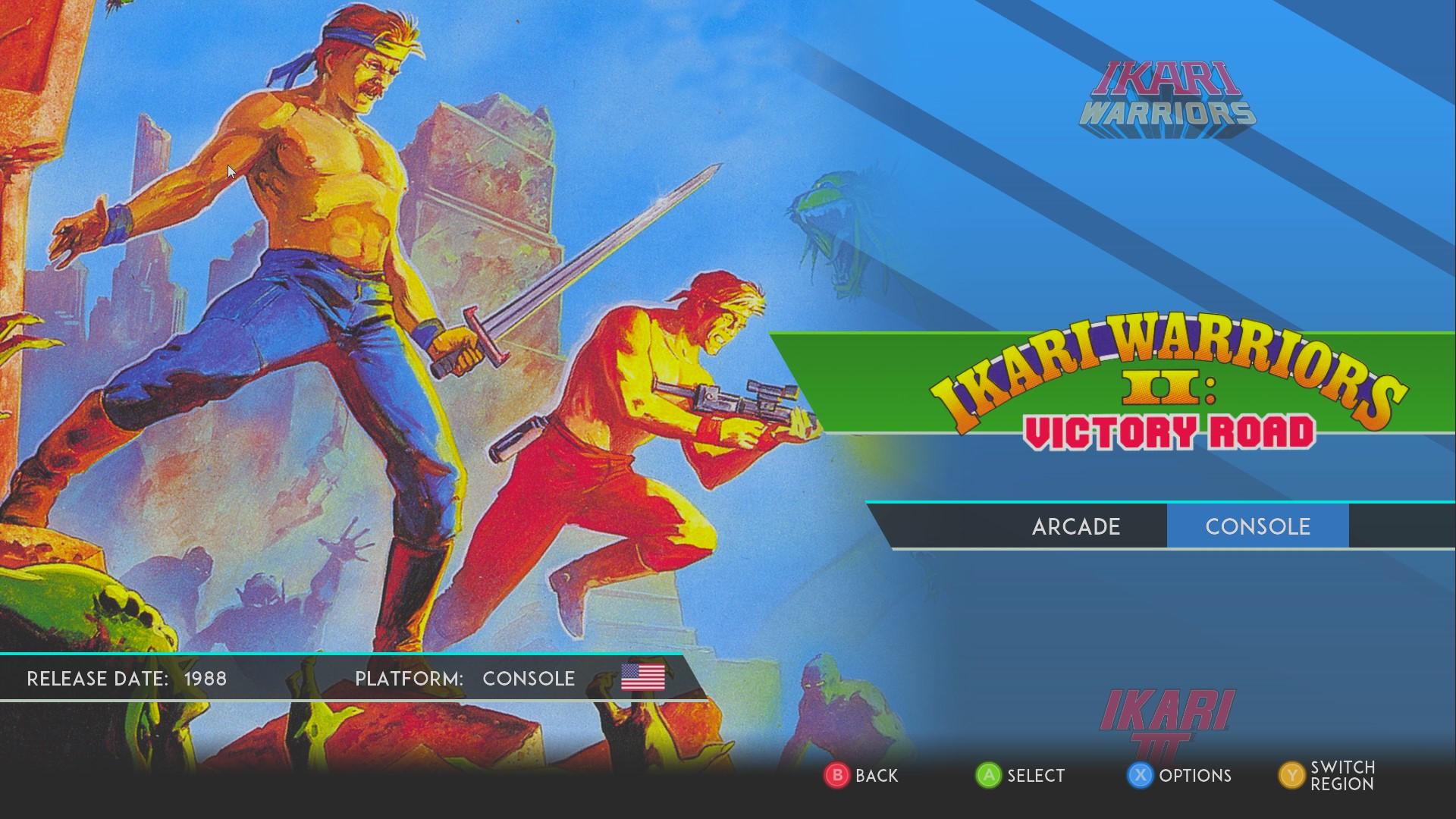 AkinNahtanoj: SNK 40th Anniversary Collection: Ikari Warriors II: Victory Road (PC) 500 points on 2020-08-24 03:41:28