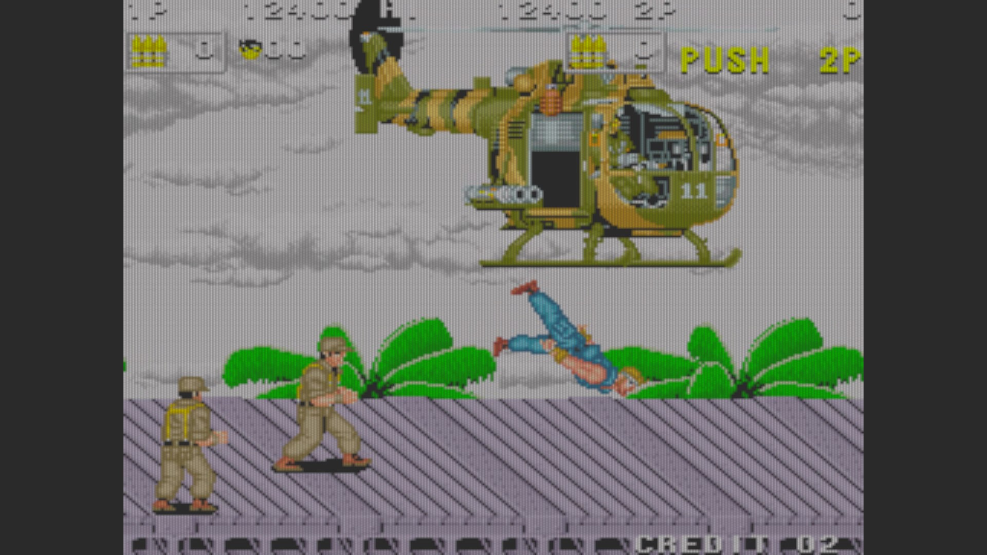 SNK 40th Anniversary Collection: P.O.W. Prisoners of War [Arcade] 12,400 points
