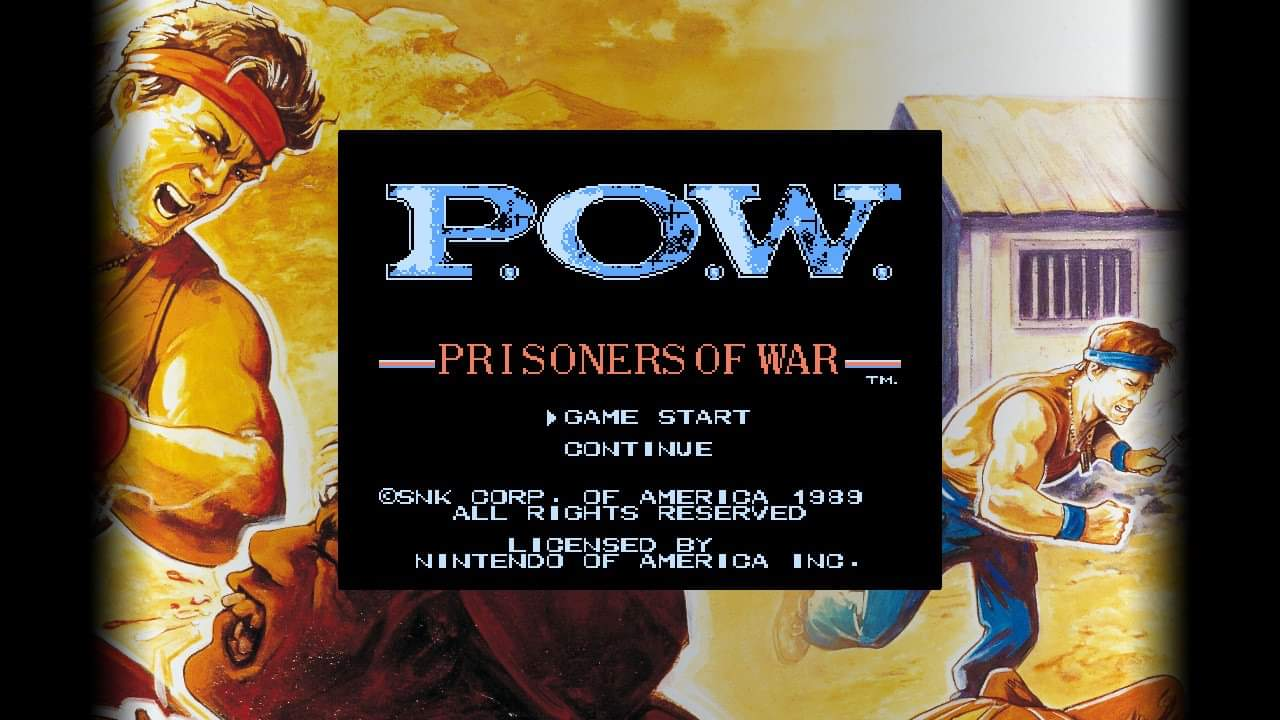 JML101582: SNK 40th Anniversary Collection: P.O.W. Prisoners of War [Console] (Nintendo Switch) 5,800 points on 2020-07-01 00:06:41