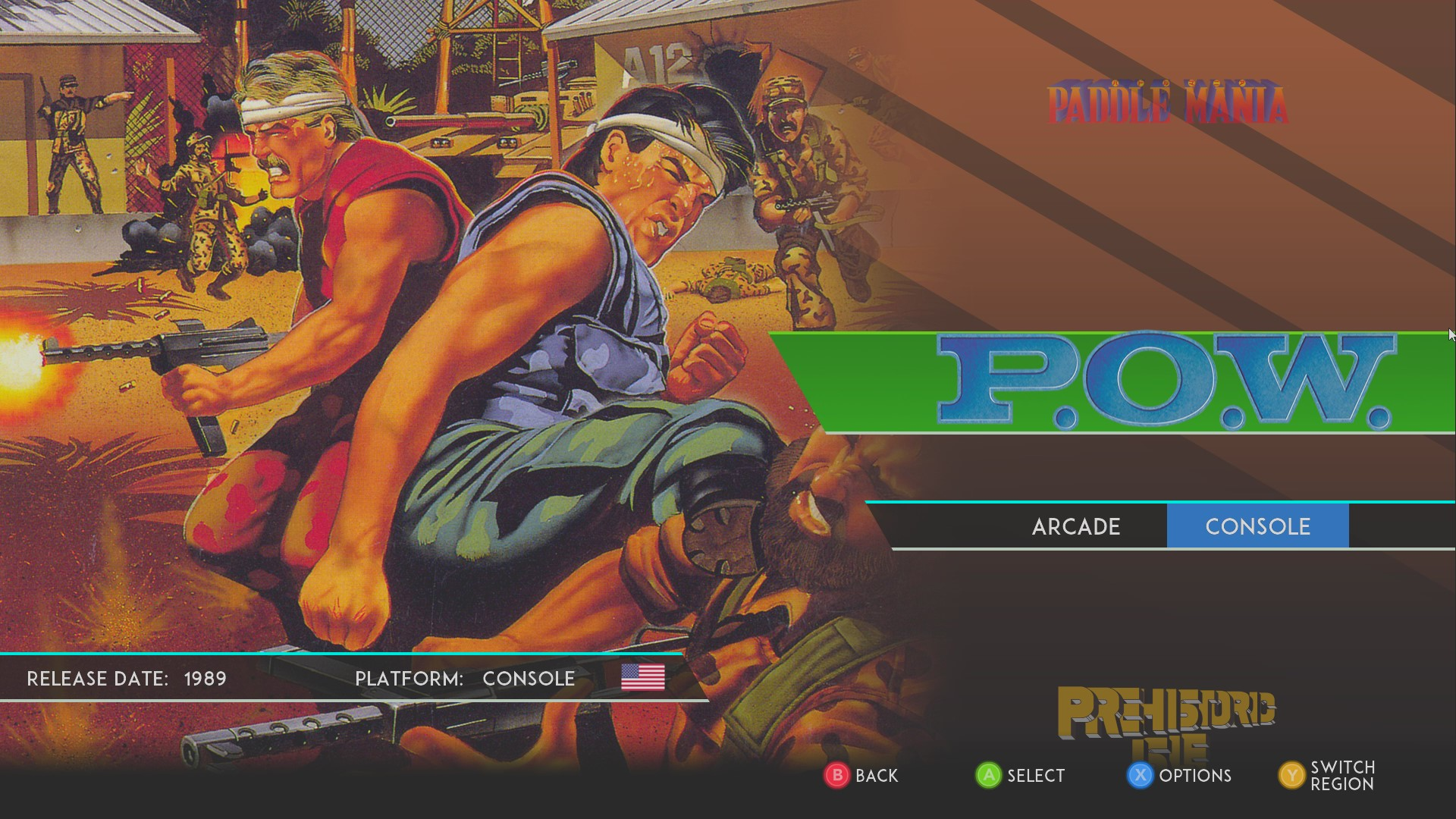 AkinNahtanoj: SNK 40th Anniversary Collection: P.O.W. Prisoners of War [Console] (PC) 5,800 points on 2020-08-24 06:16:48