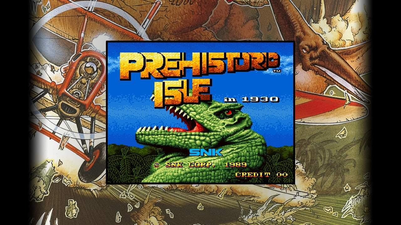 JML101582: SNK 40th Anniversary Collection: Prehistoric Isle (Nintendo Switch) 9,300 points on 2020-07-06 00:10:05