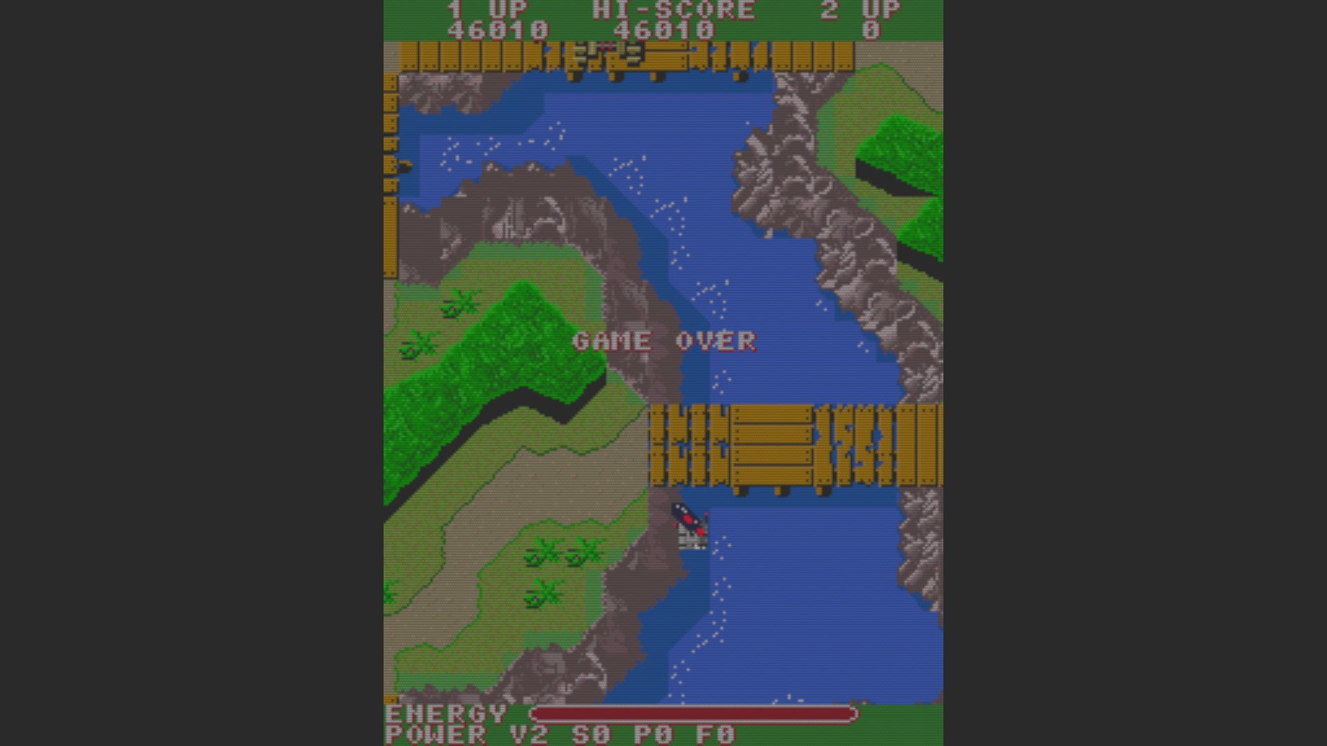 SNK 40th Anniversary Collection: TNK III [Arcade] 46,010 points