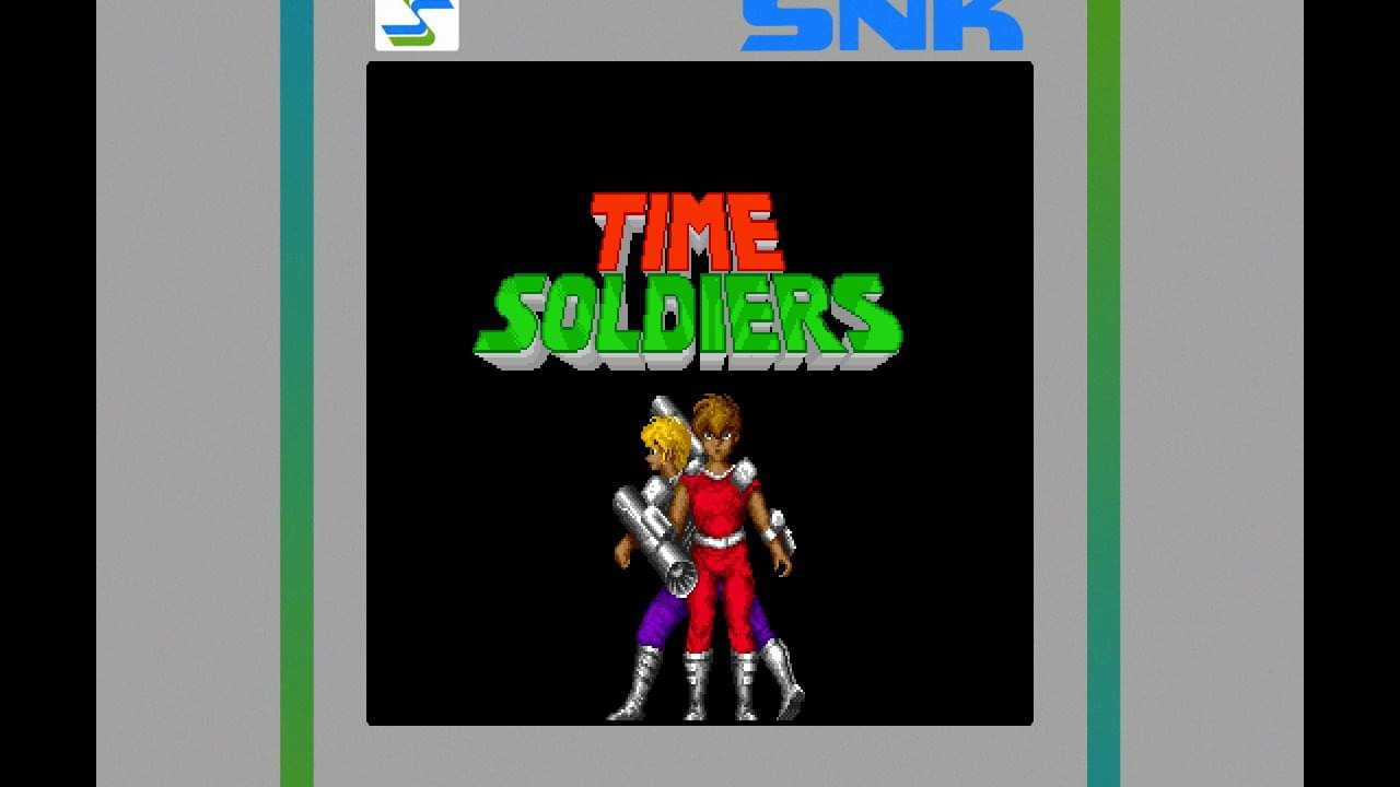 JML101582: SNK 40th Anniversary Collection: Time Soldiers (Nintendo Switch) 100 points on 2020-08-18 16:40:48